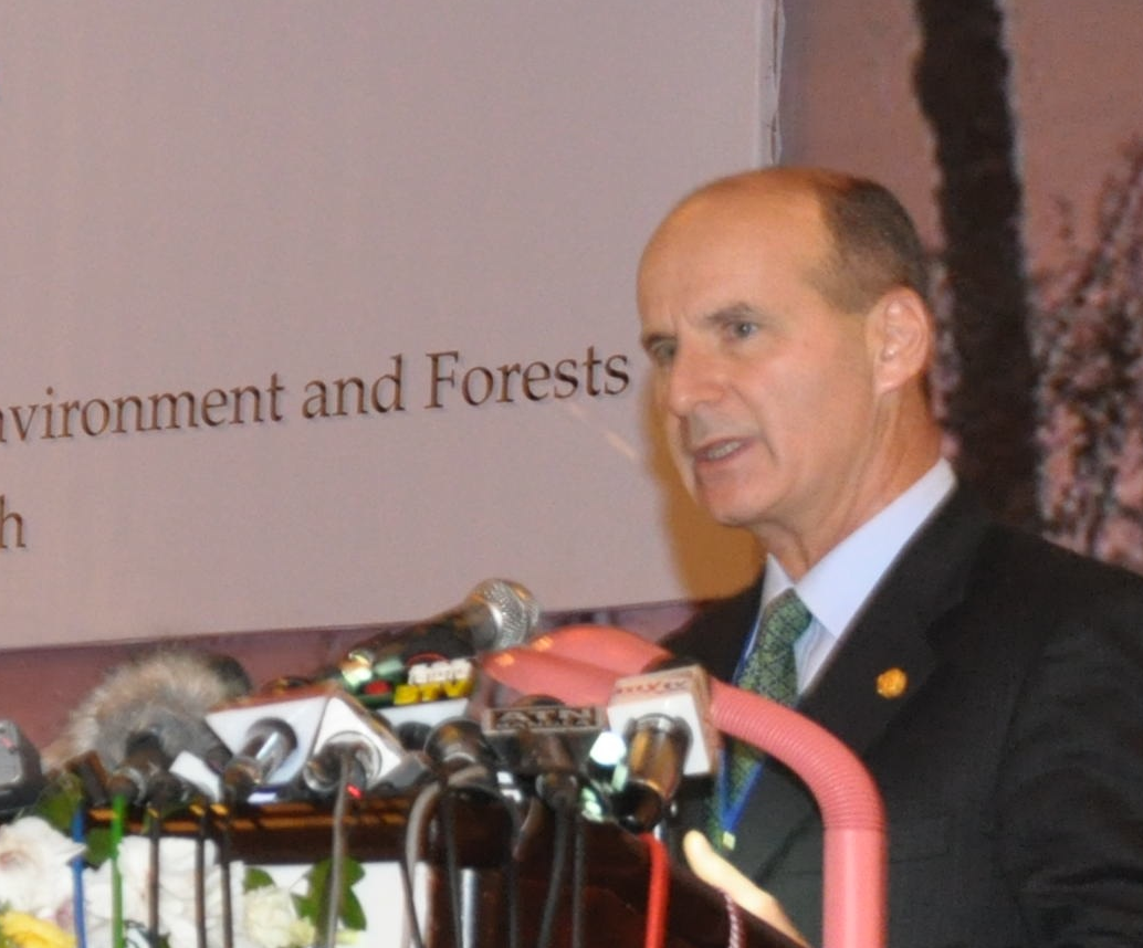 Former President Costa Rica José Maria Figueres CVF Climate Vulnerable Forum Dhaka 2011