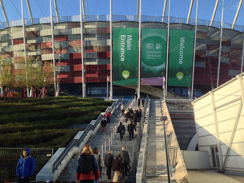 Warsaw COP19 Entrance Plenary: Source: Dora_Maus License: CC BY-NC 2.0