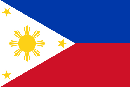 Image of Philippines Flag. Philippines is one of the participants of Climate Vulnerable Forum