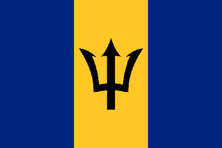 Image of Barbados Flag. Barbados is one of the members of Climate Vulnerable Forum