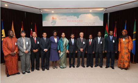 Maldives, 2009-2010