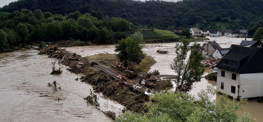 Floods in Germany, July 2021.